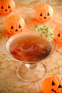 Jack-O-Tini Martini Photo
