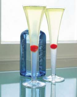 Valentine's French 75 Cocktail Photo