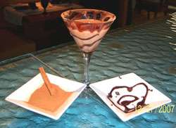 Mexican Hot Chocolate Martini Martini Photo