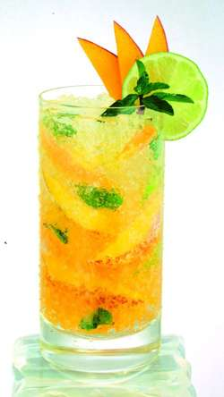 Herradura Mango Mojito Drink Recipe Cocktail