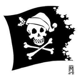 Holly Jolly Roger Cocktail Photo