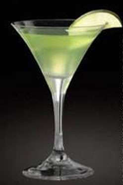 Caramel Appletini - TY KU Martini Photo
