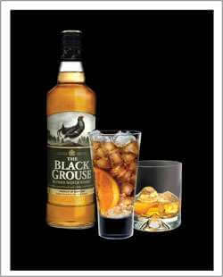 Black and Black Cocktail Photo
