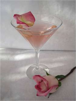L�Amour en Rose Martini Photo