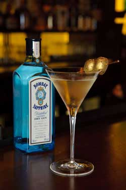 Goodman Gold 'Double' Martini Martini Photo