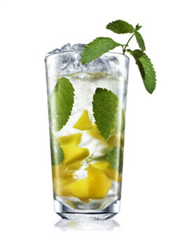 Absolut Mango Mojito Cocktail Photo