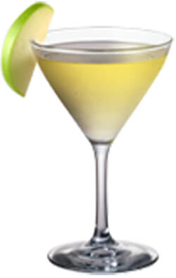 Moon Mountain Cinnamon Apple Moontini Martini Photo