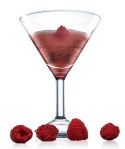 ABSOLUT Raspberri Royal Martini Photo