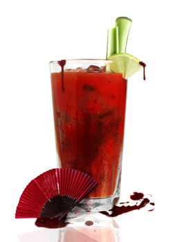 Bloody Geisha Cocktail Photo