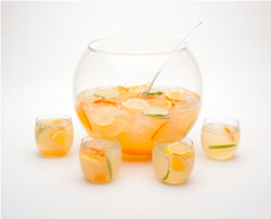 Hiram Walker White Peach Sangria Cocktail Photo