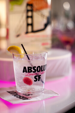ABSOLUT SF Mission Fizz Cocktail Photo