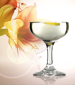 The Floral Martini Martini Photo