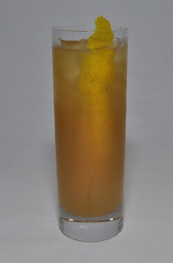Herradura Smoked Peach Ice Tea Cocktail Photo
