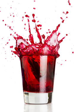 Iceberg Vodka Blood Shot Shooter Photo