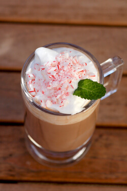 Baileys Peppermint Cream Hot Drink Photo
