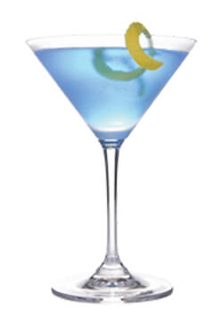 Blue BAM Martini Photo