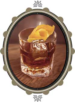 Ancho Old-Fashioned Cocktail Photo
