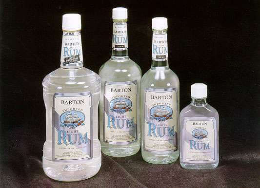 Barton Light Rum Photo