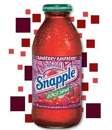 Cranberry Raspberry Snapple Photo