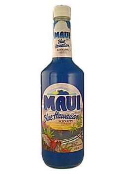 Maui Blue Hawaiian Schnapps Photo