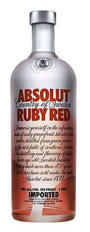 Absolut Ruby Red Vodka Photo