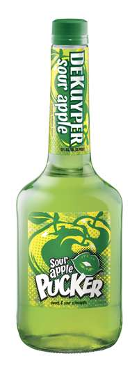 DeKuyper Pucker Sour Apple Schnapps Photo