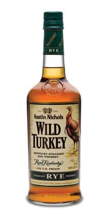Wild Turkey Straight Rye Whiskey Photo