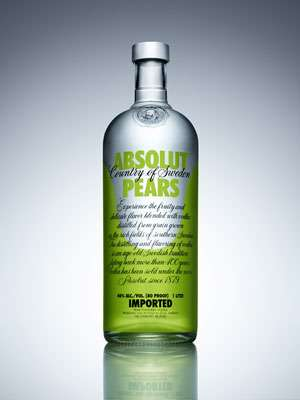 Absolut Pears Vodka Photo