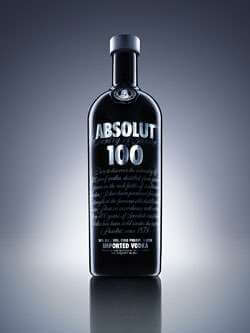 Absolut 100 Vodka Photo