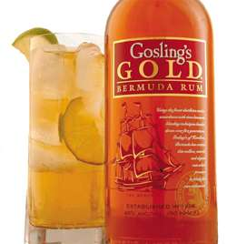 Gosling's Gold Rum Photo