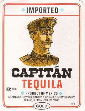 Capitan Gold Tequila Photo