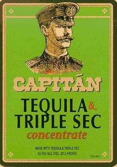 Capitan Tequila and Triple Sec Photo