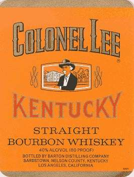 Colonel Lee Bourbon Whiskey Photo