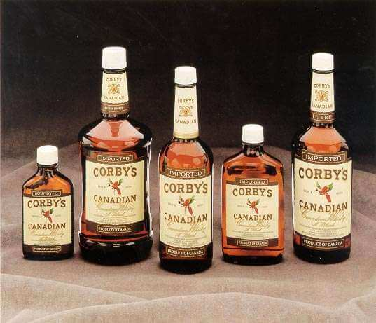 Corby's Canadian Whisky Photo