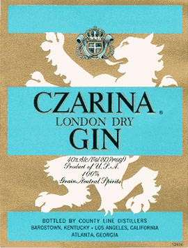 Czarina Gin Photo