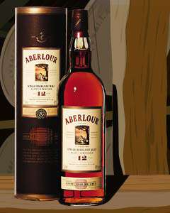 Aberlour Single Malt Scotch 12 Year Old - Sherry Matured Photo
