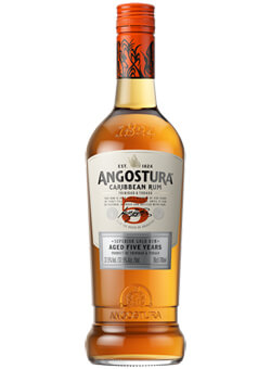 Angostura 5 Year Old Dark Rum Photo