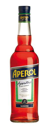 Aperol Orange Liqueur Photo