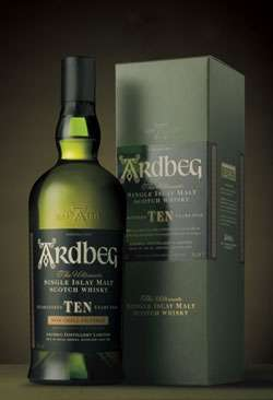 Ardbeg 10 Year Old Single Malt Scotch Whisky Photo
