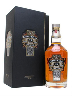 Chivas Regal 25 Year Old Scotch Whisky Photo