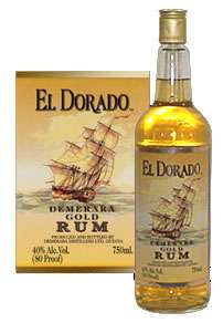 El Dorado Gold Rum Photo