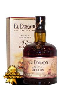 El Dorado 15 Year Old Rum Photo