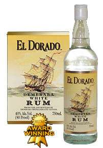 El Dorado White Rum Photo