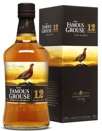 The Famous Grouse Gold Reserve 12 Year Old Scotch Whisky Photo