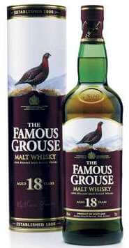 The Famous Grouse 18 Year Old Malt Whisky Photo