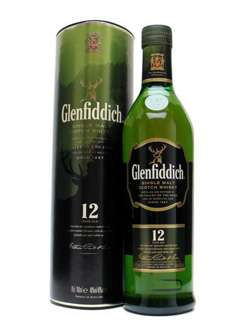 Glenfiddich 12 Year Old Single Malt Scotch Whisky Photo