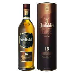 Glenfiddich 15 Year Old Single Malt Scotch Whisky Photo