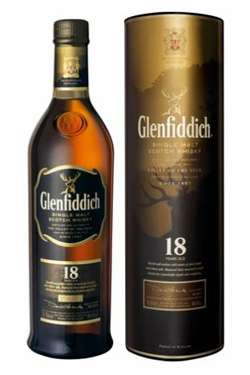 Glenfiddich 18 Year Old Single Malt Scotch Whisky Photo