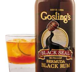 Gosling's Black Seal Rum Photo