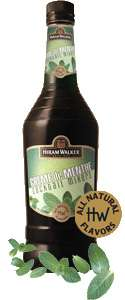 Hiram Walker Green Creme de Menthe Photo